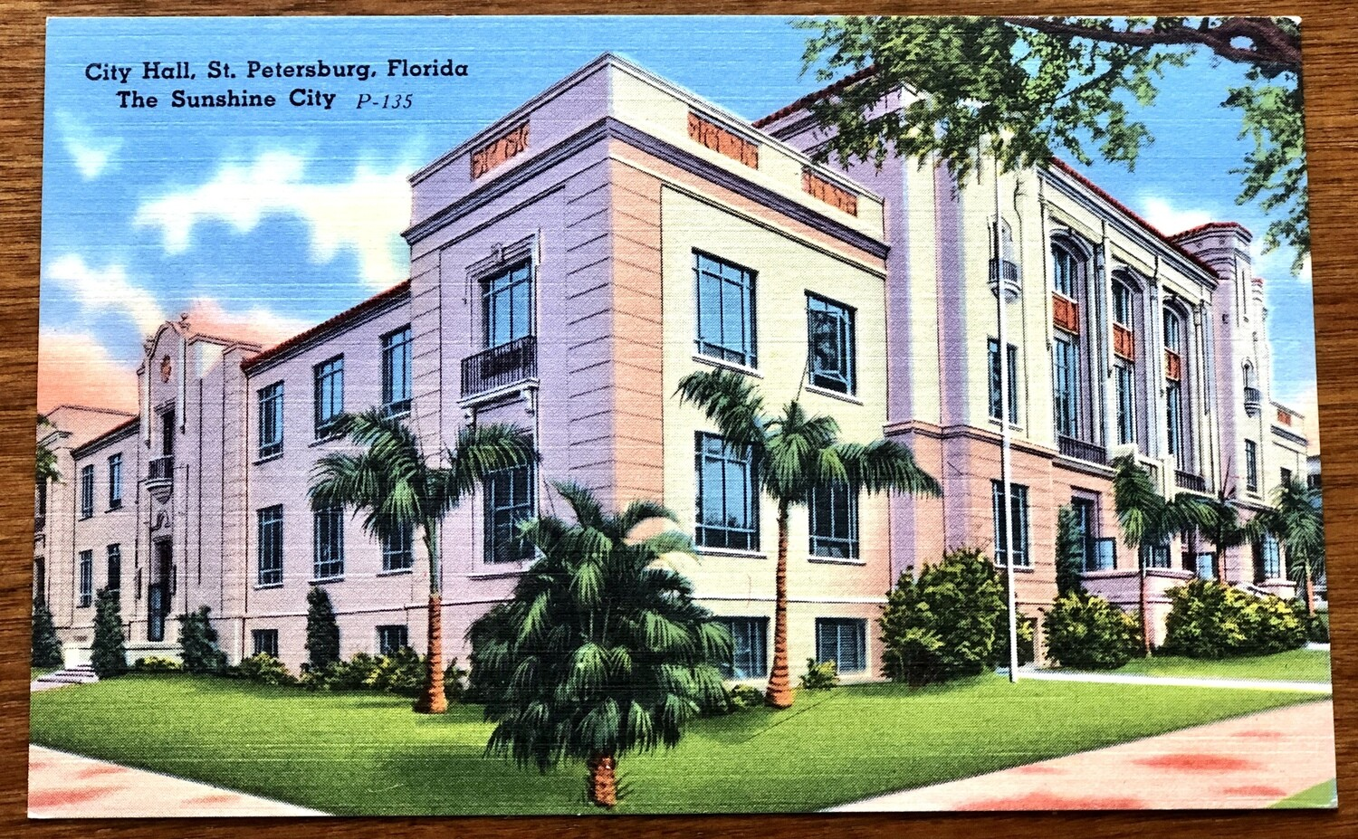 City Hall St. Petersburg Florida The Sunshine City