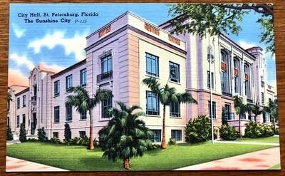 City Hall St. Petersburg Florida The Sunshine City
