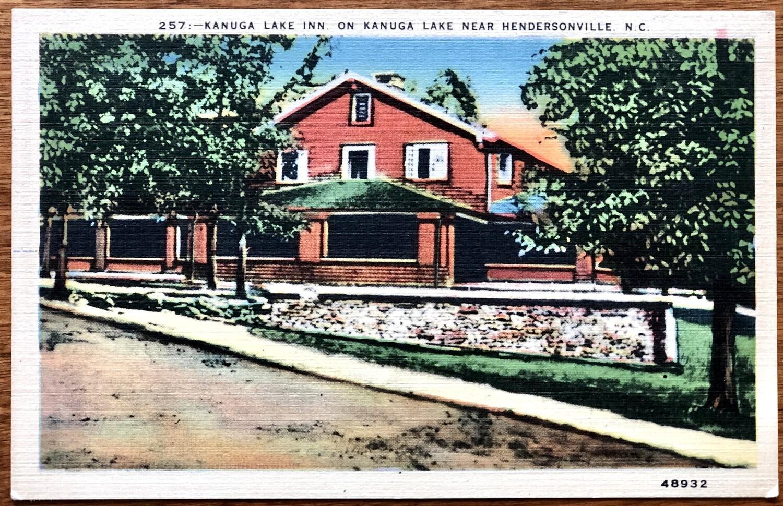 Kanuga Lake Inn on Kanuga Lake Hendersonville NC