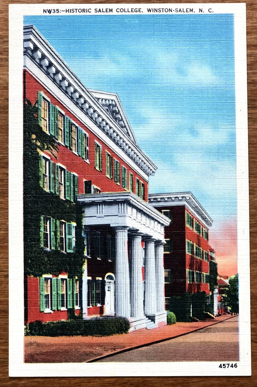 Historic Salem College Winston-Salem North Carolina