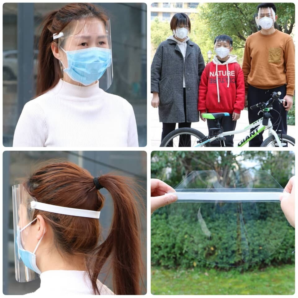 Protective Clear Face Mask Shield