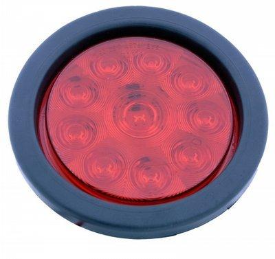 LED Exterior Light - 10 Diode 4 Inch Round Light Kit