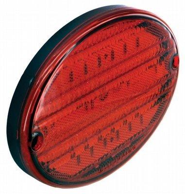 LED Exterior Light - 52 Diode 8 Inch Oval Light