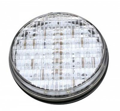 LED Exterior Light - 45 Diode 4 Inch Round Back Up Light