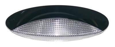 Black Eurostyle Porch Light - 27 diode