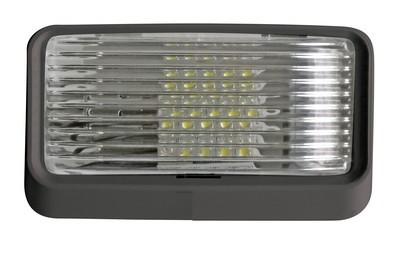 Black Surface Mount Standard Porch Light - No Switch