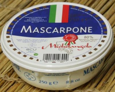 Mascarpone italienne  barquette de 250 g