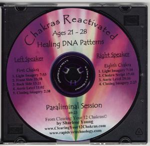 Paraliminal Chakra CDs