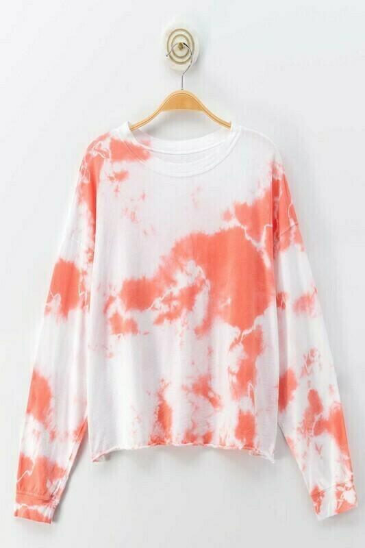 Coral Tie Dye