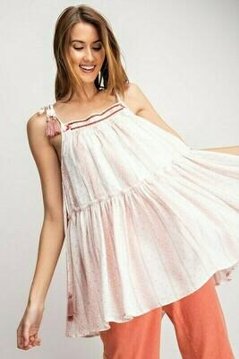 Sleeveless Rose Tunic