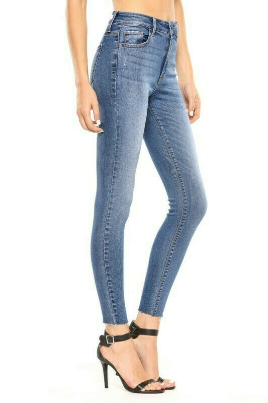 Medium Wash High Rise Jeans