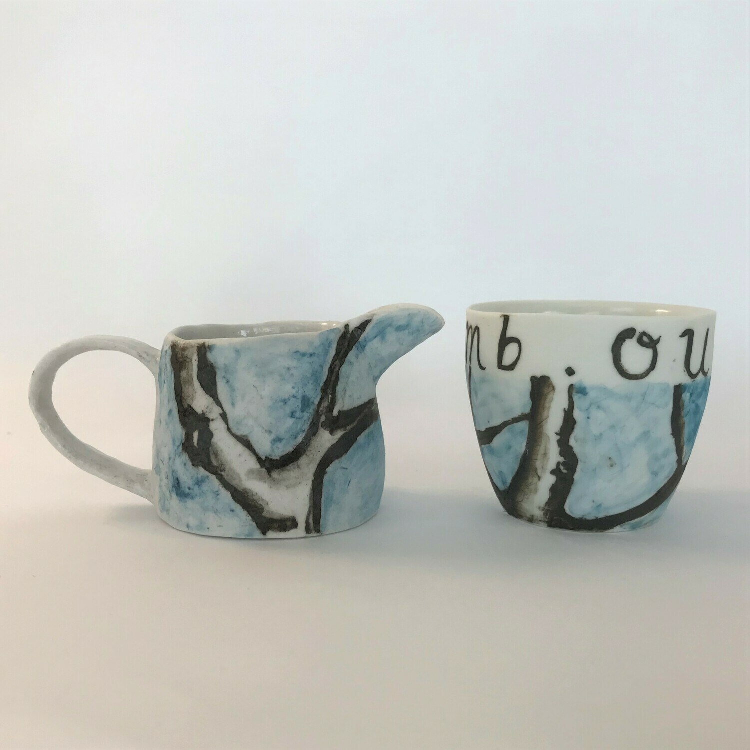 out on a limb  (jug) small beaker SOLD
