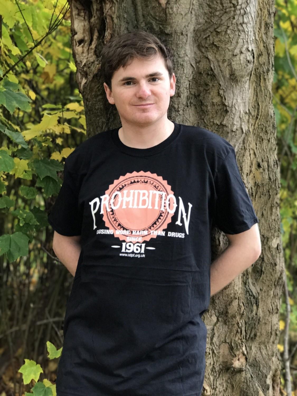 Prohibition T-shirt (men's – black)
