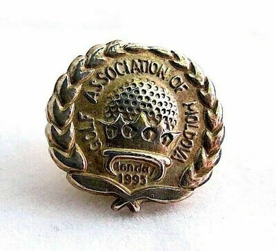 Badge of Golf Assocation of Moldova