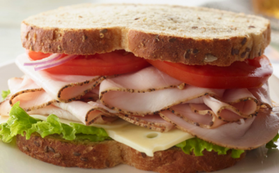 Pepper Turkey Sandwich