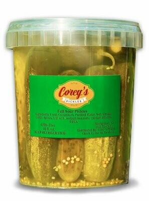 Corey's Pickles