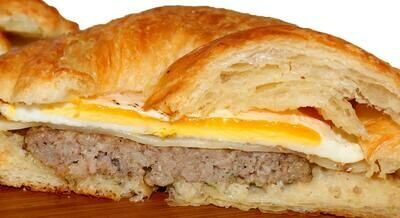 Breakfast Meat & Egg Sandwich