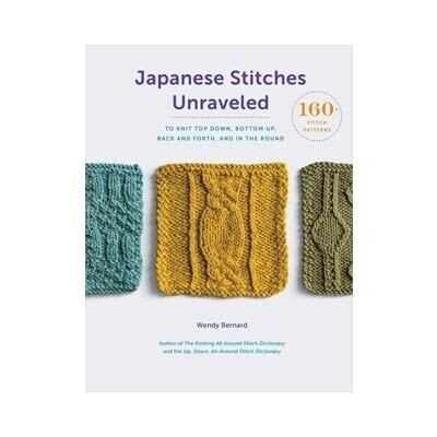 Japanese Stitches Revealed by Wendy Bernard