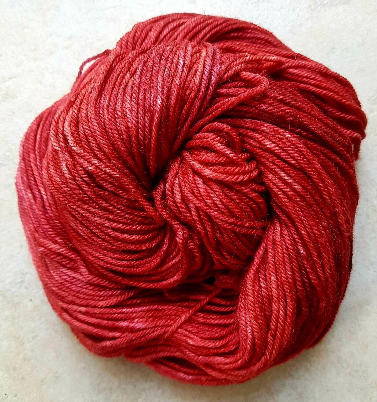 Riverstone Yarns - Worsted Merino Ecowash - Poppy