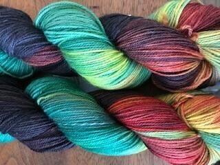 Riverstone Yarns - 80/20 Sock - Freedom