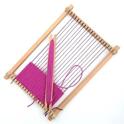 Rico Weaving Loom Wooden for children - (Large) -