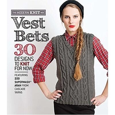Vest Bets - 30 Designs To Knit