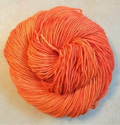 Riverstone Yarns - Ecowash Merino Worsted - Tangerine