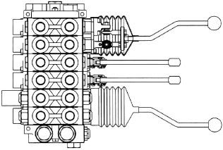 660190017 - Joystick Handle Kit - Offset