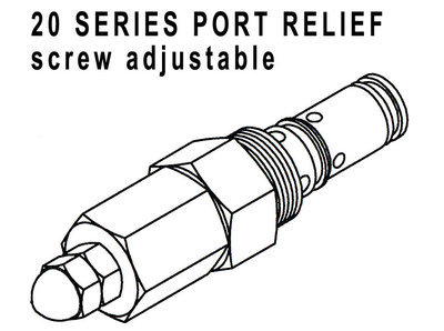 660290407 - PORT RELIEF CARTRIDGE - 2200-3000