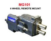Metaris Twin Shaft 6-Wheel Dump Pump