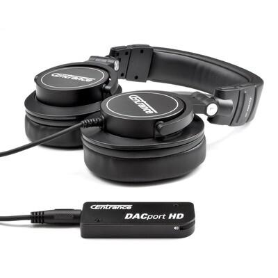 DACport HD Bundle: DACport HD + Cerene dB Headphones