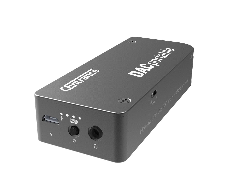 DACportable - Portable DAC/Amp for iPhone/iPad, computers