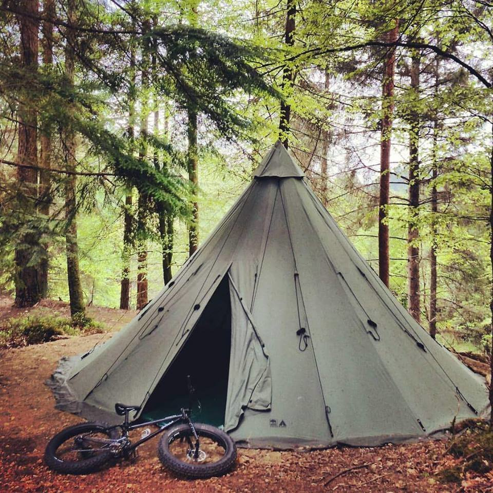 Tipi Camping Gift Certificate