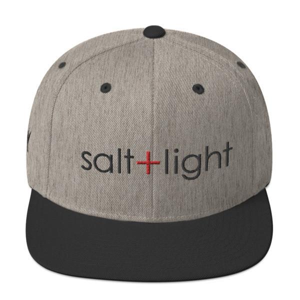 """Salt + Light"" Snapback Hat"