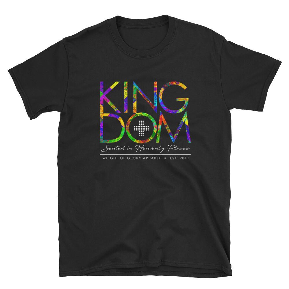 """Kingdom"" Coat of Many Colors Unisex T-Shirt"