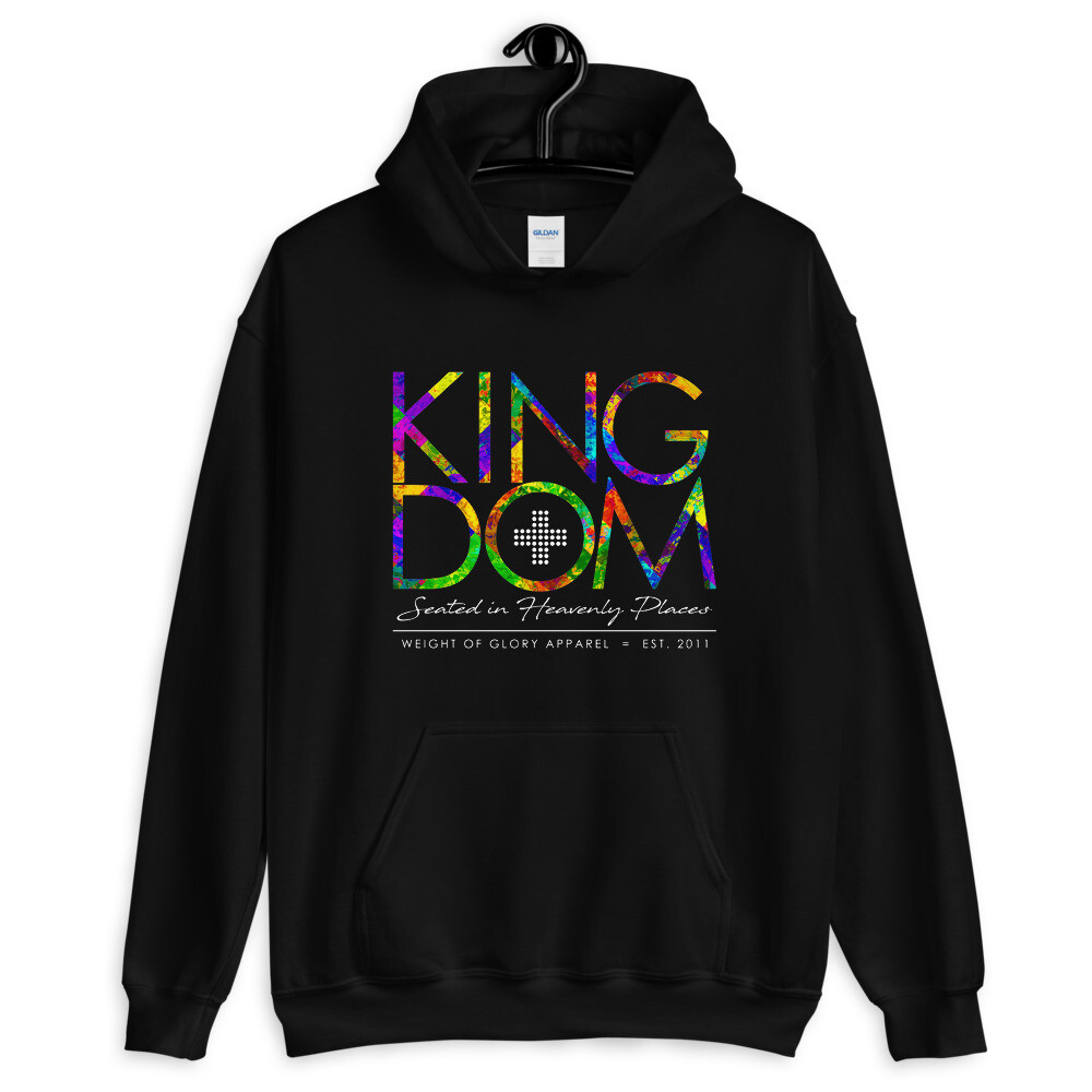 """Kingdom"" Coat of Many Colors - Unisex Hoodie"