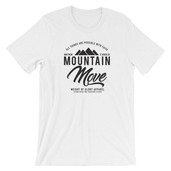 """Mountain Move"" Short-Sleeve Unisex T-Shirt"