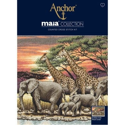 Maia Cross Stitch - African Sunset
