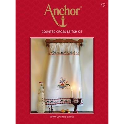 Anchor Cross Stitch Essentials Kit - Mora Towel Rail