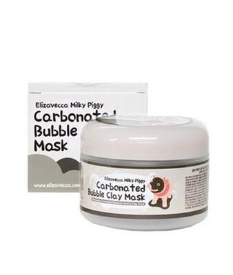 Маска д/лица очищающая ПУЗЫРЬКОВАЯ с глиной Сarbonate Bubble Clay Mask