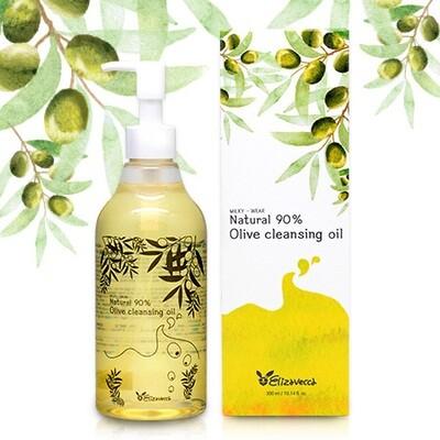 Гидрофильное масло с маслом ОЛИВЫ Natural 90% Olive Cleansing Oil, 300 мл