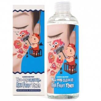 Тонер-пилинг с фруктовыми кислотами Hell-Pore Clean Up Aha Fruit Toner, 200 мл