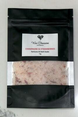 Bath Soaks - Perfume Oil: Champagne & Strawberries - SMALL