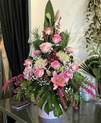 Hat Box - Florist Choice