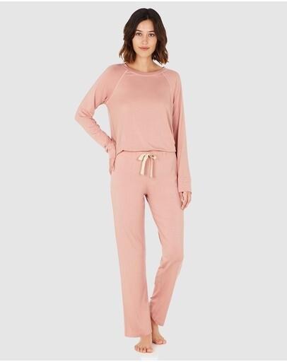 Goodnight Sleep Pants - Dusty Pink