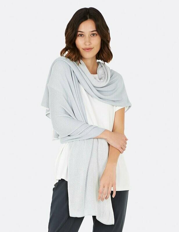 Cosy Knit Wrap - Dove / OS