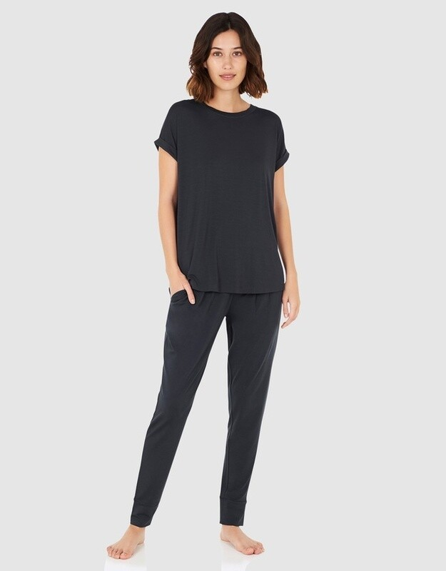 Downtime Lounge Top - Storm