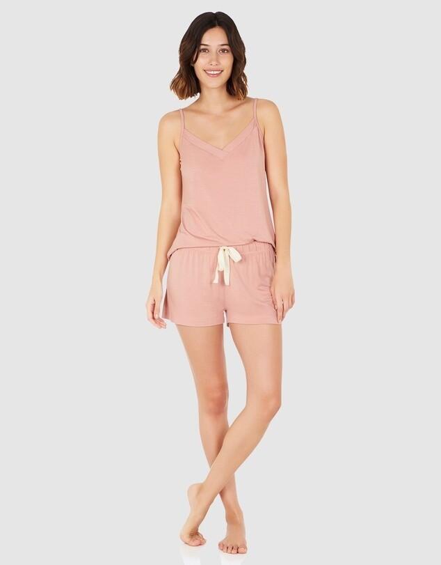 Goodnight Sleep Shorts - Dusty Pink