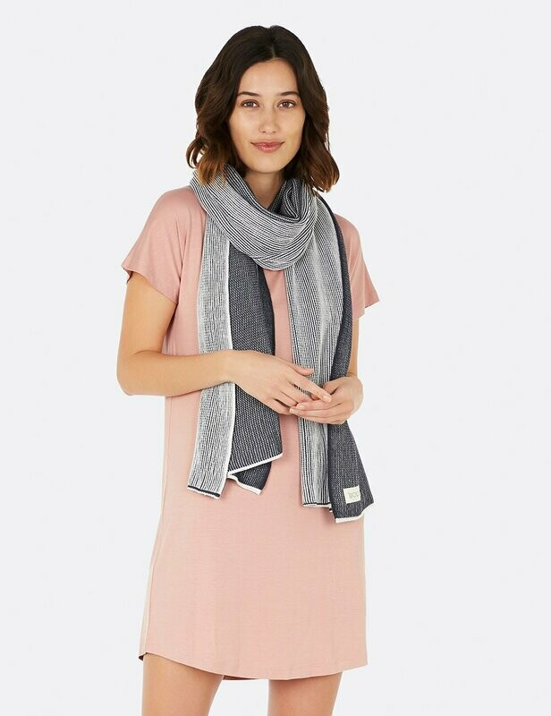 Cosy Knit Wrap - Storm / OS