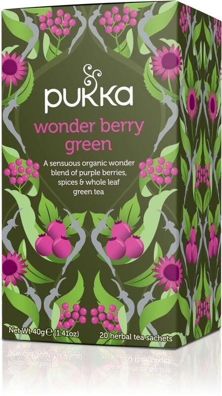Pukka Wonder Berry Green